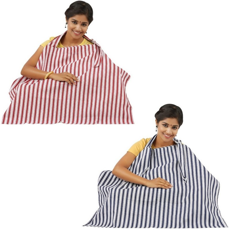 Lula Mom Feeding Cloak(Blue, Red)