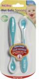Nuby Hot Safe Spoons (Aqua)