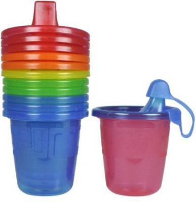 The First Years Take & Toss Spill Proof Cups  - Plastic(Blue, Green, Red, Maroon)