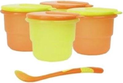 Anmol Storage Bowl with Feeding Spoon  - food grade plastic