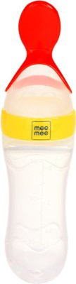 Mee Mee Squeezy Silicone Food Feeder  - Plastic(Yellow)