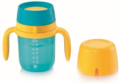 Tupperware Training Cup  - Plastic(Aqua Cool, Yellow)