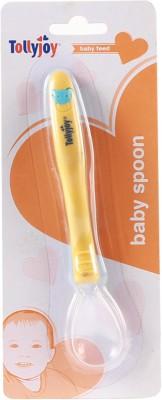 Tollyjoy Soft Silicone Tip Spoon  - Plastic(Orange)