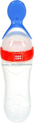 Mee Mee Squeezy Silicone Food Feeder  - Plastic(Red)