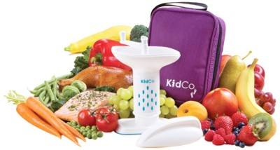 Kidco BabySteps Deluxe Food Mill with Travel Tote  - BPA/PHTHALATE FREE
