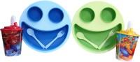 Zasmina macdonal plate & cup  - Plastic(Blue, Green)