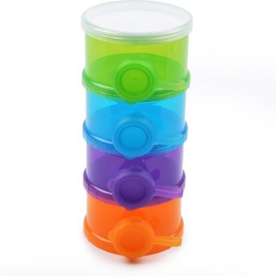Kandy Floss milk powder container  - plastic