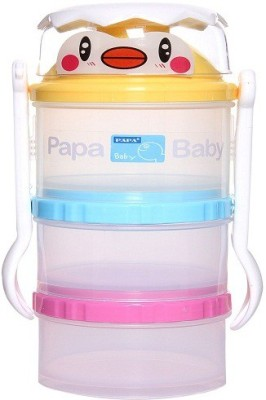 Baby's Clubb Milk Powder Container With Fork and Spoon  - Plastic
