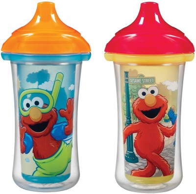 Munchkin Sesame Street Click Lock Insulated Sippy Cup  - Plastic(Multi Colour)