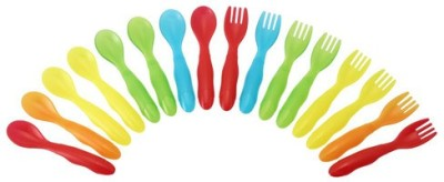 The First Years Take & Toss Toddler Flatware  - Plastic