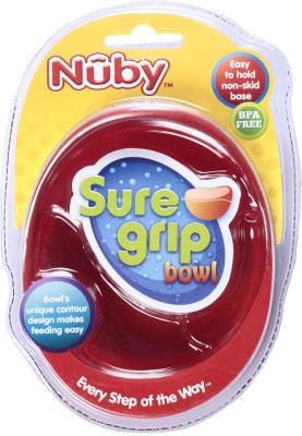 Nuby Microwavable Bowl  - Plastic Material