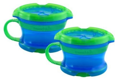 Munchkin Click Lockdeluxe Snack Catcher  - Plastic(Blue, Green)