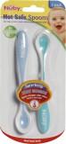 Nuby Hot Safe Spoons (Aqua, Air Blue)