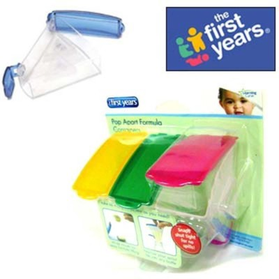 The First Years POP APART FORMULA CONTAINERS  - Food Grade Plastic