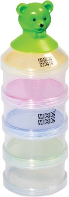 Mee Mee Baby Food Container Set (4 pcs)  - Food Grade Plastic, Silicone