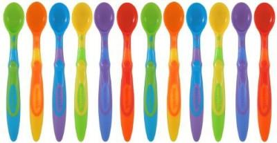 Munchkin Soft-Tip Infant Spoons  - Plastic(Multicolor)
