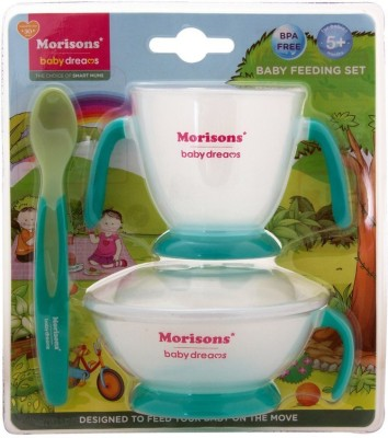 Morisons Baby Dreams Baby Feeding Set - Green  - Plastic(Green)