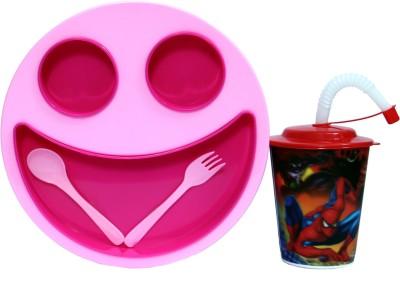 zasmina macdonal plate & cup  - plastic