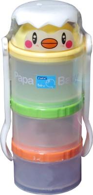 Offspring Milk Powder Container  - Plastic(Yellow, Orange, Green)