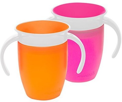 Munchkin Miracle 360 Trainer Cup  - Plastic(Pink, Orange)