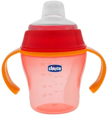 Chicco Soft Cup 6month  - Plastic