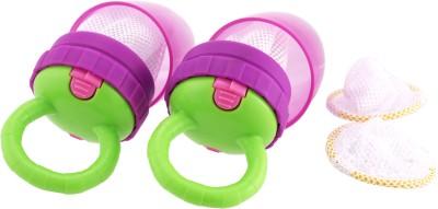 Sassy Teething Feeder 2 Pk  - Plastic(Pink)