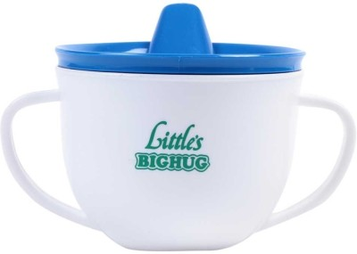 Little's Big Hug Non Topple Sipper  - Plastic(Blue)