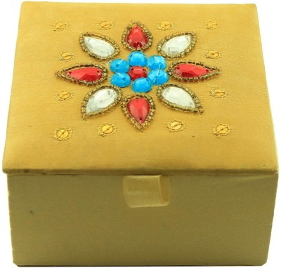 Zari Boxes ZBD-AAA606 Wooden Gift Box(Gold)