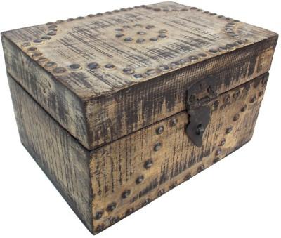 Indune Lifestyle MAJ586016B Wooden, Iron Gift Box