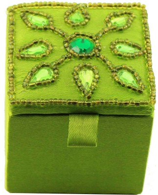 Zari Boxes ZBD-AAB224 Wooden Gift Box(Green)