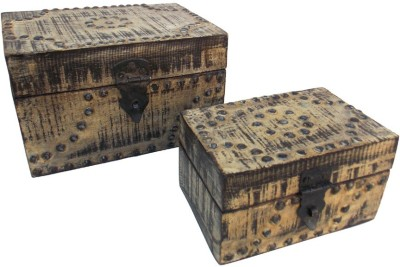 Indune Lifestyle MAJ586016ST Wooden, Iron Gift Box