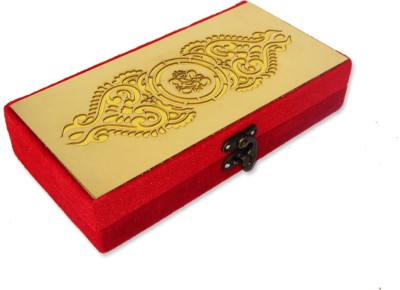 WeddingPitara Cash Box Wooden Gift Box