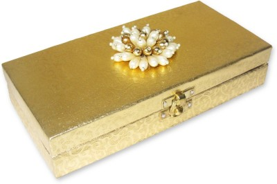 WeddingPitara Cash Shagun Wooden Gift Box
