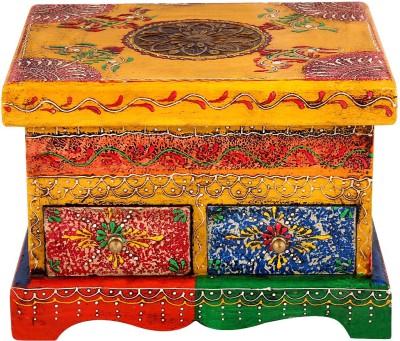 Rajrang WOD-1048 Wooden Gift Box(Yellow)