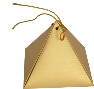 APP Pyramid Chocolate Box (Pack of 10) Paper Gift Box
