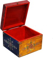 Shreeng Embossed wooden box(Pack of 1)