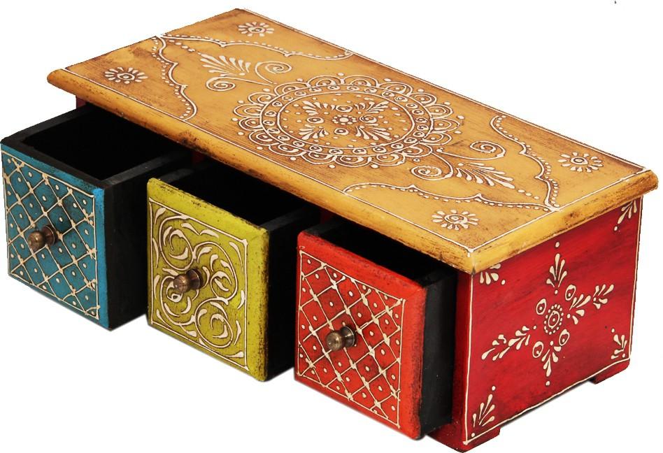 Shreeng SEBH026 Wooden Gift Box(Multicolor)