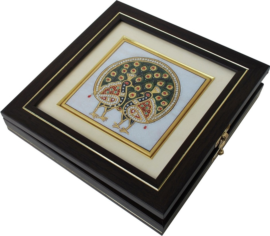 Handicrafts Paradise HPMR14113 Marble Gift Box(Multicolor)