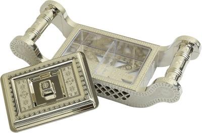 Samkit E-Manali-Mini Plastic Gift Box(Silver)