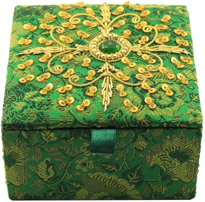 Zari Boxes ZBD-AAA618 Wooden Gift Box(Green)