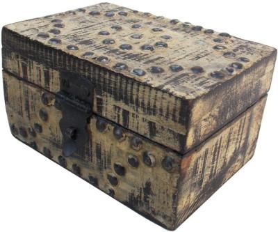 Indune Lifestyle MAJ586016A Wooden, Iron Gift Box