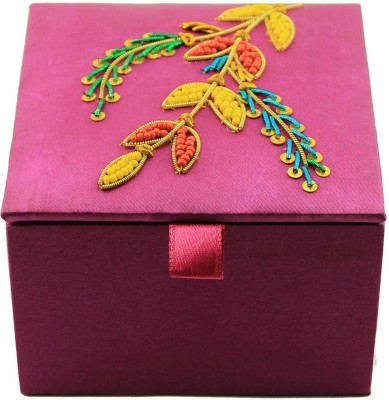 Zari Boxes ZBD-AAA626 Wooden Gift Box(Pink)