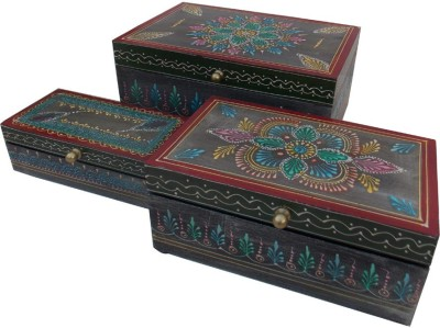 Indune Lifestyle Hand Painted Wooden Gift Box