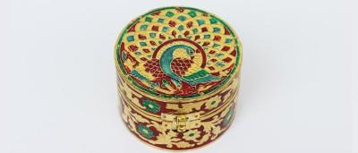 Lokalart LKA0211NW Brass, Wooden Gift Box
