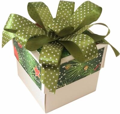 Crack of Dawn Crafts Xmas_15 Paper Gift Box(Green)