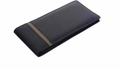 Susha Leather Cheque Book Cover-Zipper