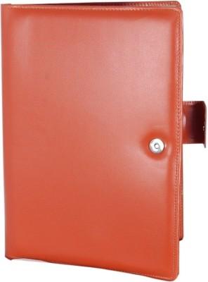 MagPie Faux Leather Conference Folder (Tan Color)