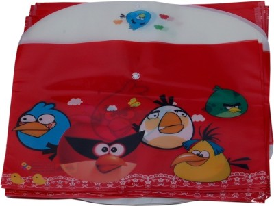 Aahum Sales Polypropylene Angry Birds My Clear Bag Set of 12