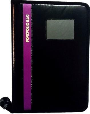 Aahum Sales Faux Leather Portfolio File Folder Document Bag