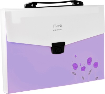 Callas Flora Polypropylene Expanding File with Handle